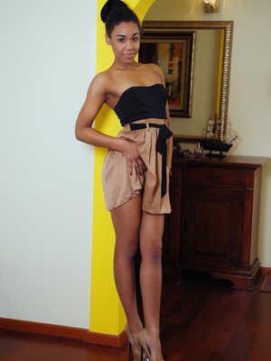 Can dark black african women nude situation familiar